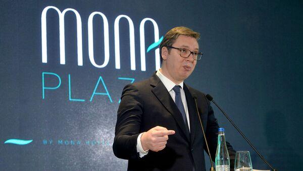 """Vučić na otvaranju hotela """"Mona"""" - Sputnik Srbija"""