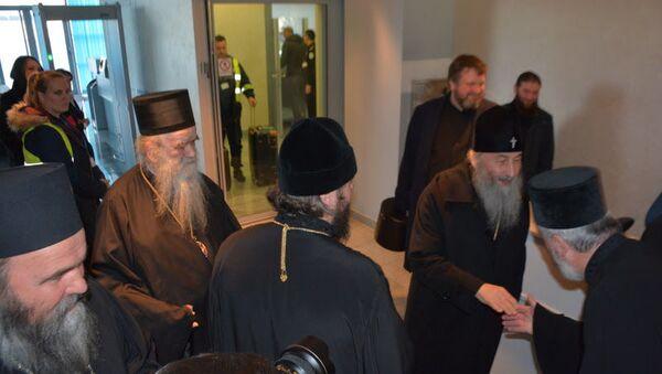 Митрополит кијевски и све Украјине г. Онуфрије допутовао је у Црну Гору - Sputnik Србија