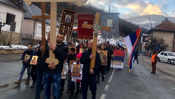 Литија у Андријевици - Sputnik Србија