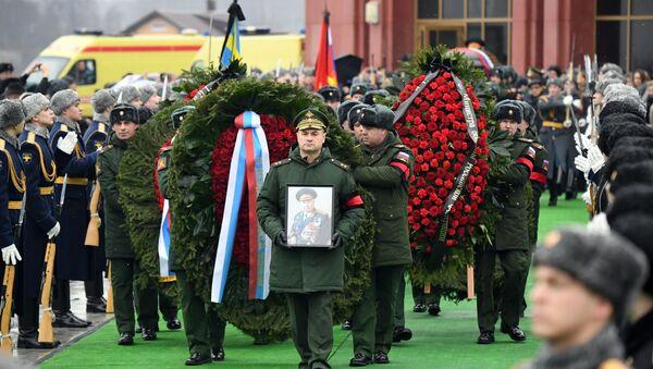 Последњи испраћај бившег министра одбране Русије Дмитрија Јазова  - Sputnik Србија