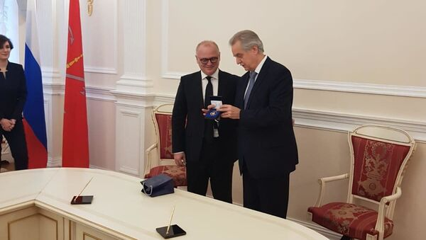 Vesić u Sankt Peterburgu posle potpisivanja protokola o saradnji tog grada i Beograda - Sputnik Srbija