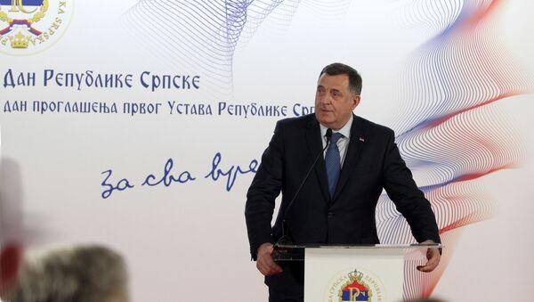 Milorad Dodik na svečanom prijemnu u Beogradu povodom Dana Republike Srpske - Sputnik Srbija