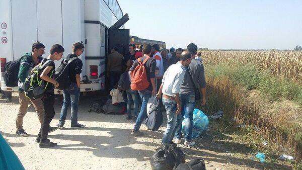 Мигранти долазе у Србију - Sputnik Србија