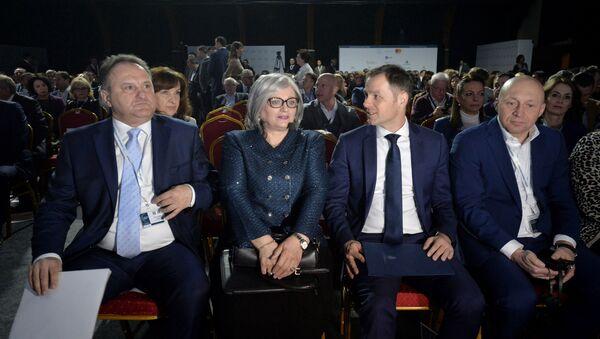 Guvernerka NBS Jorgovanka Tabaković i ministar finansija Siniša Mali na Kopaonik biznis forumu - Sputnik Srbija