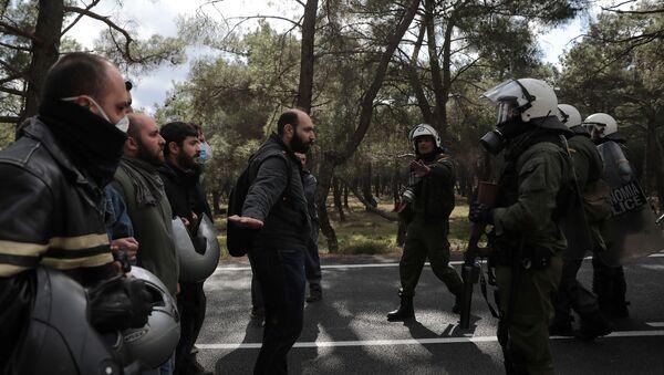 Мигранти у Грчкој - Sputnik Србија