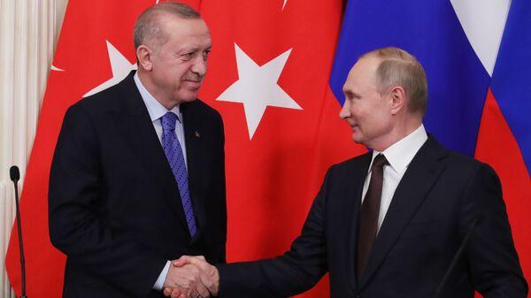 Шта су се договорили Путин и Ердоган - Sputnik Србија