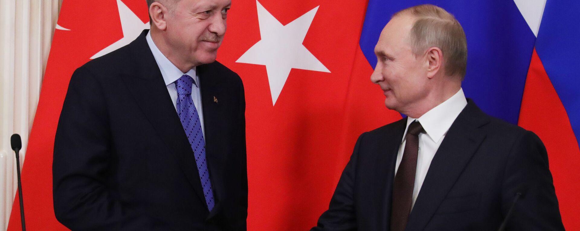 Шта су се договорили Путин и Ердоган - Sputnik Србија, 1920, 28.09.2021