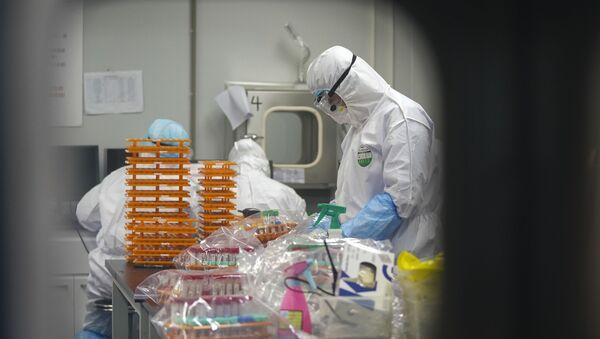 Koronavirus - laboratorijske analize - Sputnik Srbija