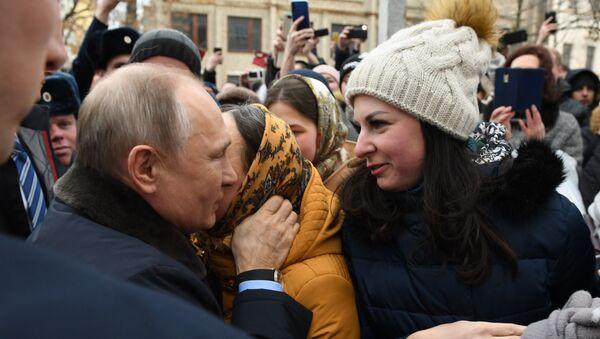 Девојка из Иванова запросила Владимира Путина - Sputnik Србија