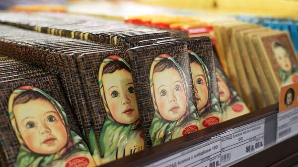 """Производња чоколаде """"Аљонке"""" у фабрици """"Красни октјабр""""  - Sputnik Србија"""