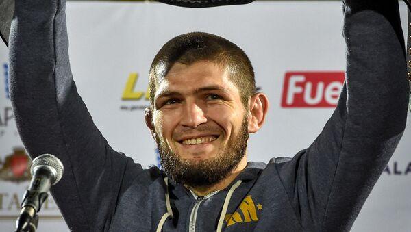 Šampion u mešanim borilačkim veštinama u UFC-u Habib Nurmagomedov - Sputnik Srbija