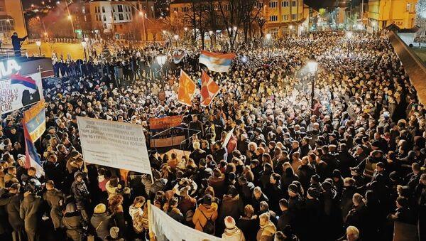 Pljevljaci na litiji - Sputnik Srbija