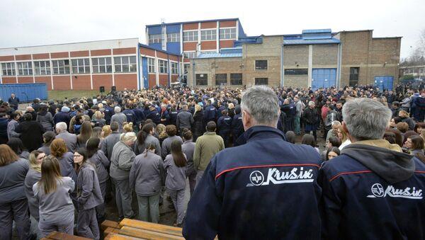 Radnici Krušika - Sputnik Srbija