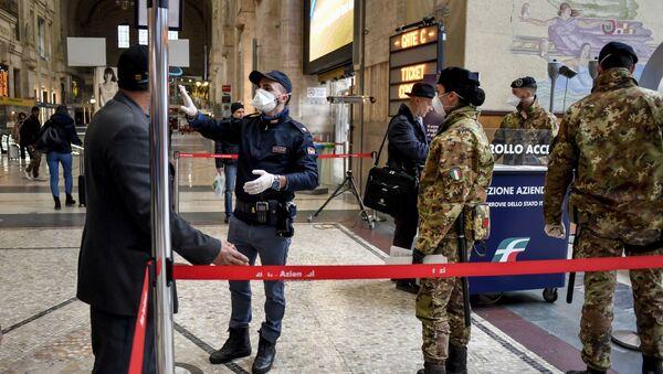 Situacija u Italiji zbog koronavirusa - Sputnik Srbija
