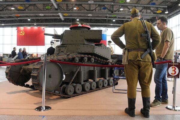 Тенк МС-1, први тенк совјетске производње уведен у наоружање Црвене армије - Sputnik Србија