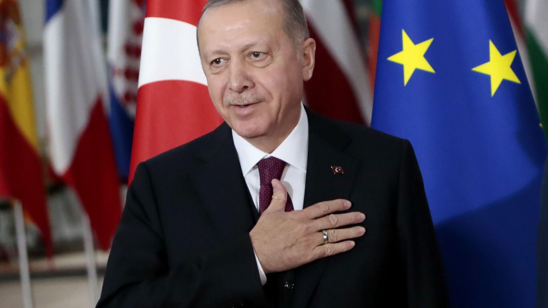 Predsednik Turske Redžep Tajip Erdogan - Sputnik Srbija, 1920, 25.09.2021