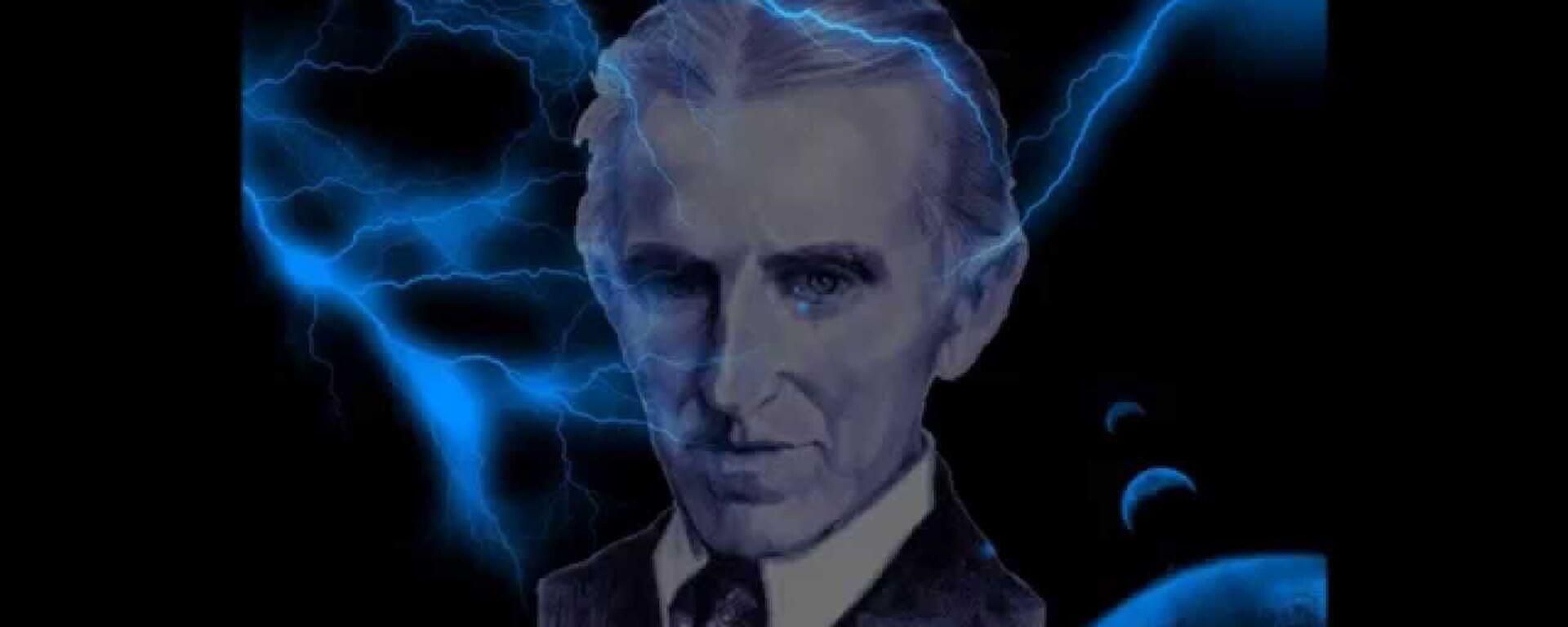 Nikola Tesla ilustracija - Sputnik Srbija, 1920, 29.11.2020