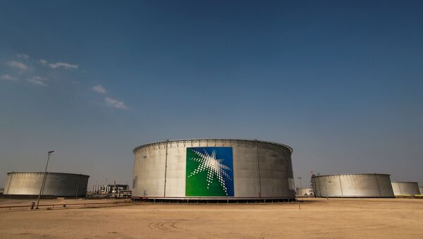 Нафтна цистерна компаније Сауди Арамко - Sputnik Србија