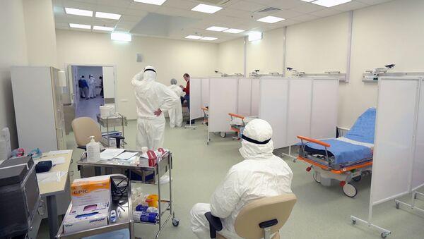 Болница у Русији која прима пацијенте са сумњом на коронавирус - Sputnik Србија