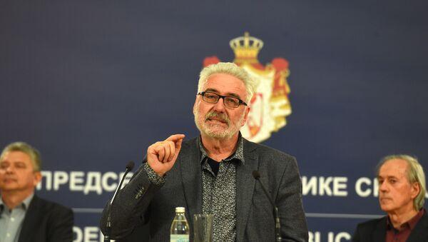 Обраћање пулмолога Бранислава Несторовић након састанка - Sputnik Србија