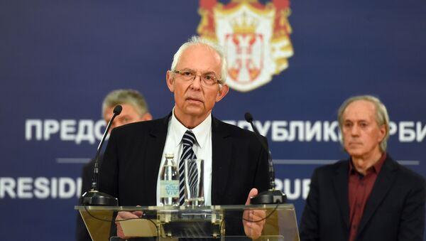 Обраћање епидемиолога Предрага Кона након састанка - Sputnik Србија