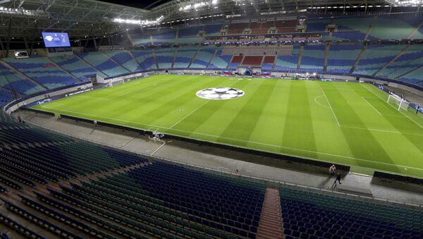 Празне трибине фудбалског стадиона - Sputnik Србија