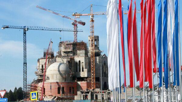 Градилиште Главног храма Оружаних снага Русије - Sputnik Србија