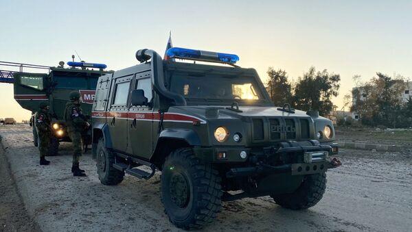 Патрола војне полиције Русије у провинцији Идлиб - Sputnik Србија