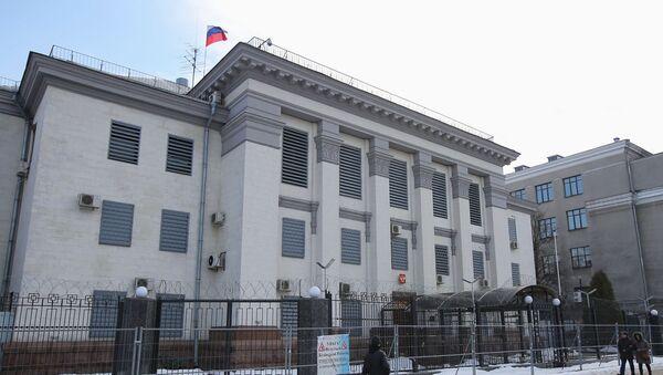 Ruska ambasada u Kijevu - Sputnik Srbija