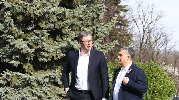 Александар Вучић и Виктор Орбан - Sputnik Србија
