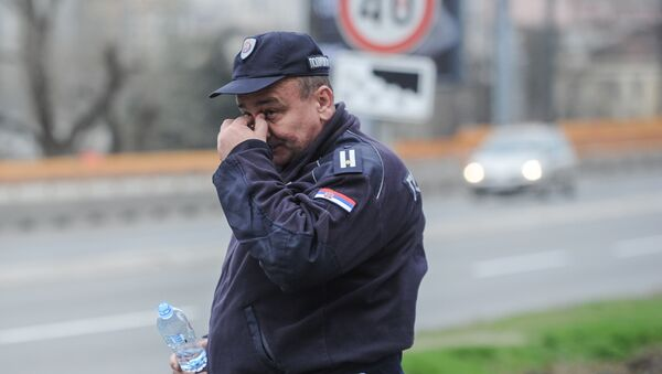 Policajac u Beogradu. - Sputnik Srbija