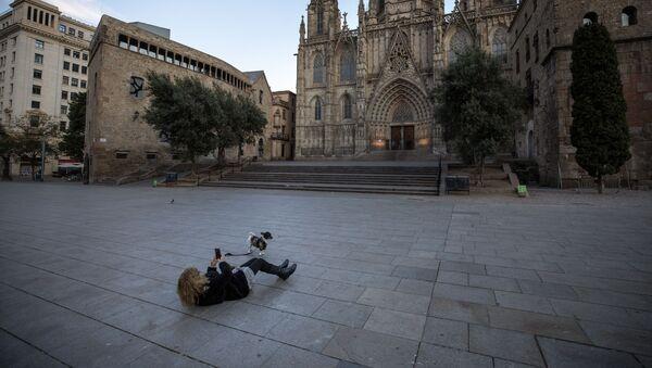 Пустош око катедрале у Барселони - Sputnik Србија