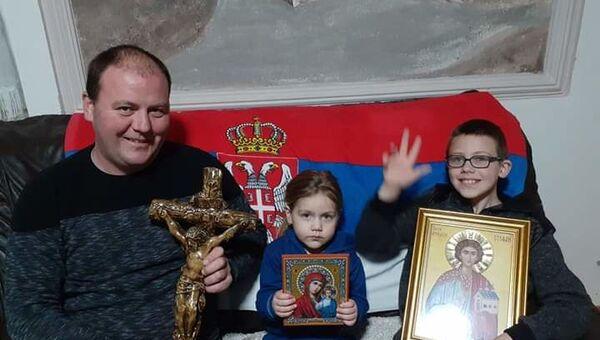 Црна Гора - место у литији, молитва у дому - Sputnik Србија