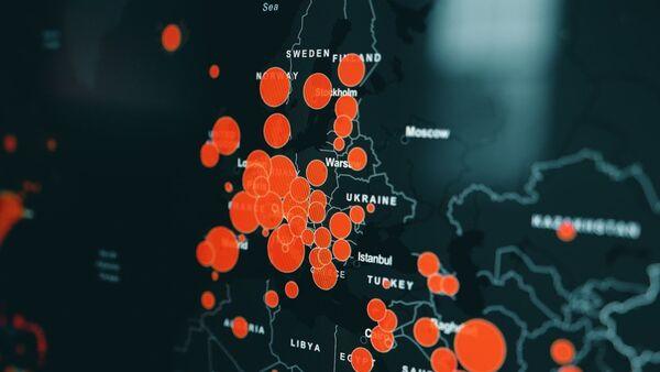Mapa širenja koronavirusa - Sputnik Srbija