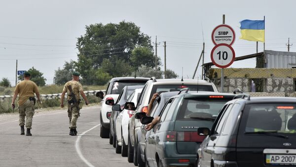 Граница са Украјином - Sputnik Србија