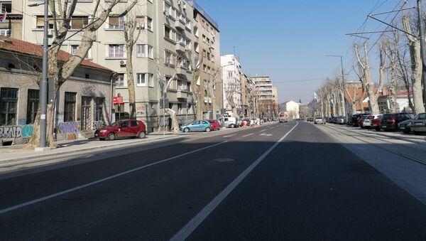 Pusta Ulica Džordža Vašingtona  - Sputnik Srbija