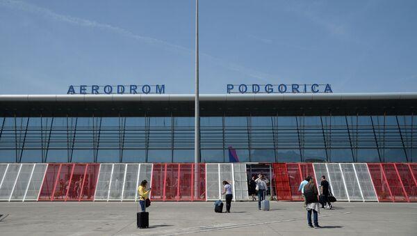 Aerodrom u Podgorici - Sputnik Srbija