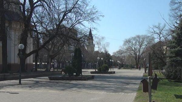 Prazne ulice Kikinde zbog koronavirusa - Sputnik Srbija