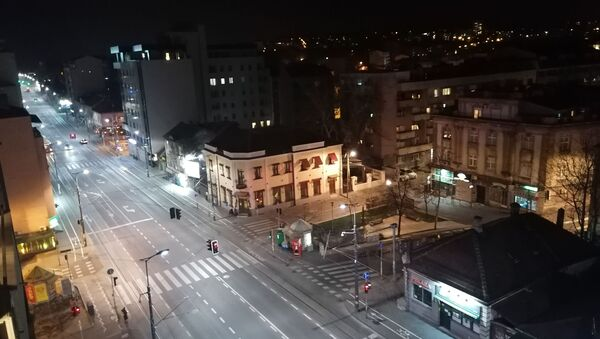 Почео полицијски час у Београду - Sputnik Србија