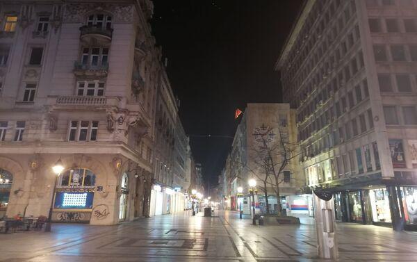 Policijski čas u Beogradu - Sputnik Srbija
