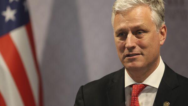 Trampov savetnik za nacionalnu bezbednost Robert O'Brajan - Sputnik Srbija