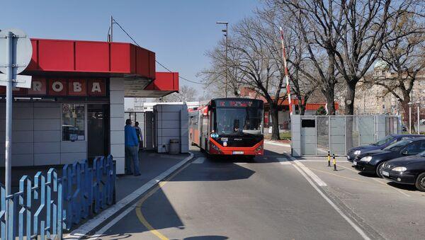 Београдска аутобуска станица - Sputnik Србија