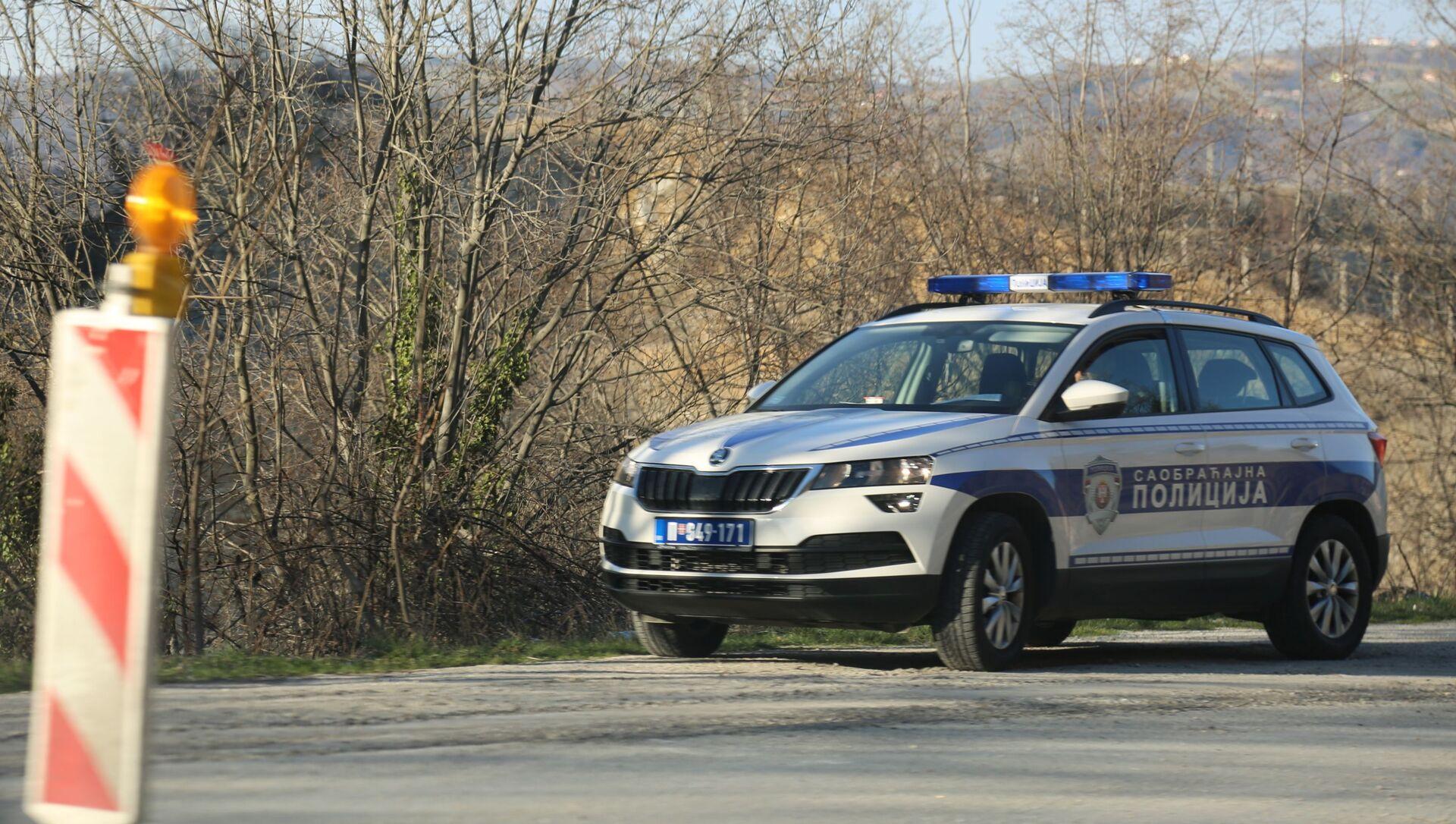 Возило саобраћајне полиције - Sputnik Србија, 1920, 02.02.2021