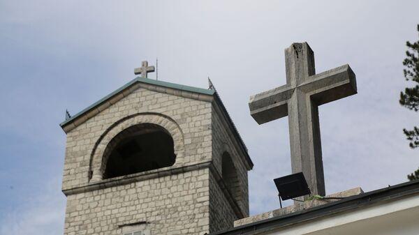 Крст на манастиру - Sputnik Србија