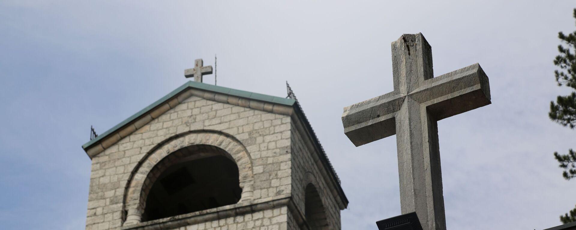 Крст на манастиру - Sputnik Србија, 1920, 13.09.2021