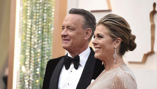 Tom Henks i Rita Vilson na dodeli Oskara - Sputnik Srbija