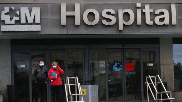 Болница у Мадриду - Sputnik Србија
