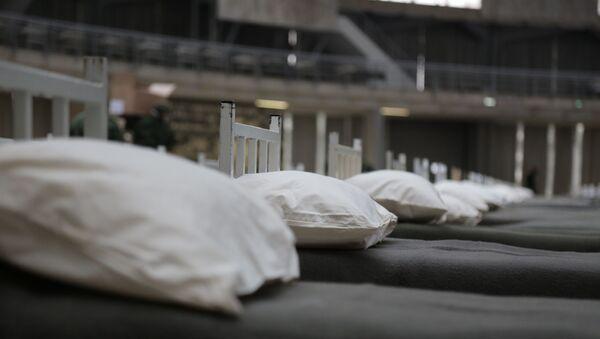 Bolnički kreveti na Beogradskom sajmu - Sputnik Srbija