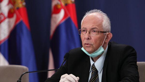 Epidemiolog dr Predrag Kon - Sputnik Srbija