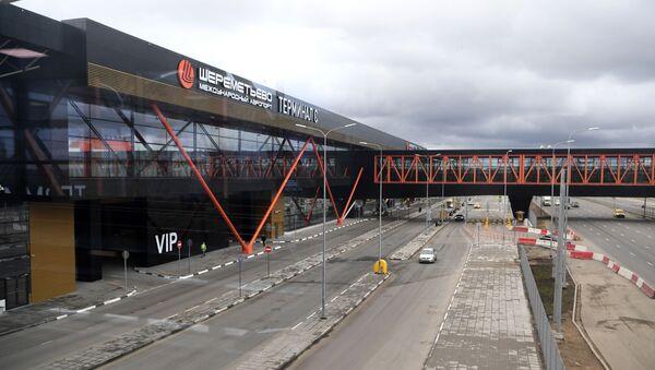 Zatvoreni Terminal C aerodroma Šeremetjevo - Sputnik Srbija
